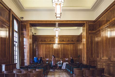 Hackney Town Hall Elopement photography London wedding