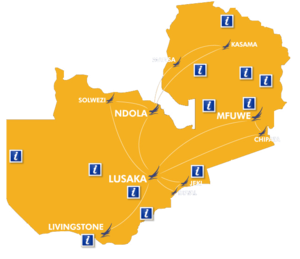 Proflight's Route Network