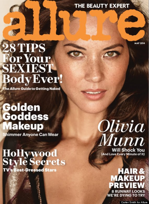 allure cover, Kristen Bell, Jenna Dewan And More Pose Nude For Allure