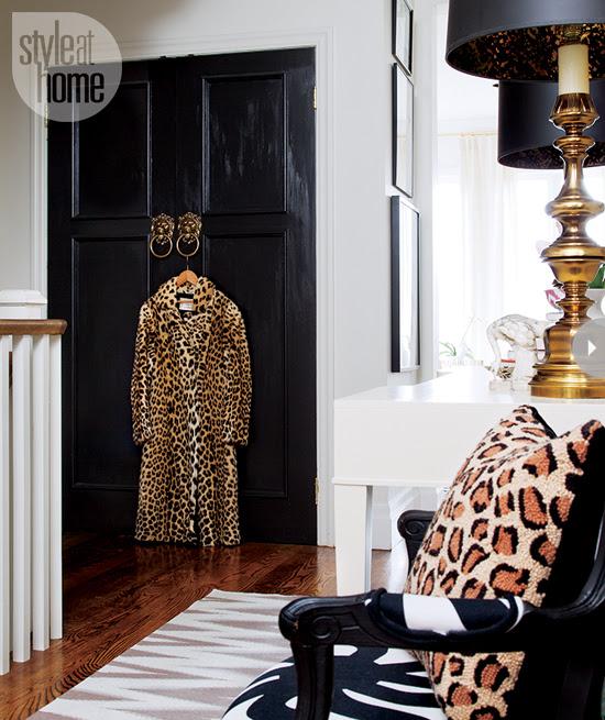 Estilo Em Casa Interior casa do glam Feminina feminineglam foyer-
