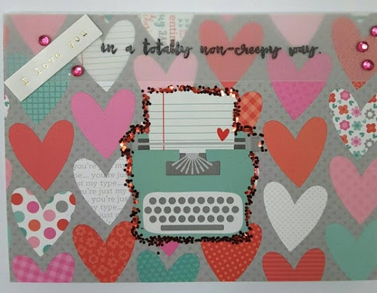 Valentine card with envelope by FancyRatsFineArt on Etsy