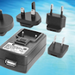 IEC62368 Power Supply Adapter meets DOE Level VI/EPS 2.0/ErP Tier2 requirements and is certified to Medical and ITE standards. This Power Supply / Charger offers Integral USB Jack and Interchangeable International Blades, GTM46101-1005-USB