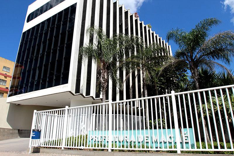 Foto da fachada da Prefeitura