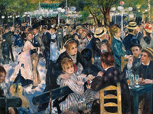 Auguste Renoir, Bal du Moulin de la Galette