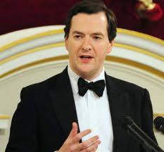 George Osborne, Mansion House Speech