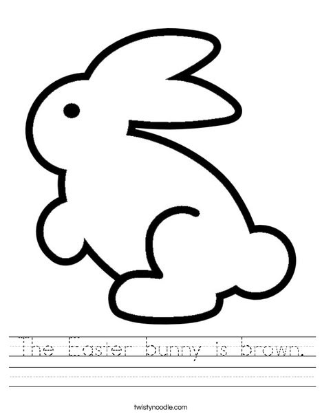 the easter bunny is brown_worksheet_png_468x609_q85