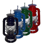 "21Century L2350-CS 10"" Hurricane Lamp Lantern - 12 Lanterns"
