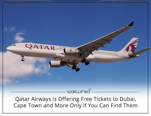 Treasure Hunt is On: Qatar Airways is Offering Free Tickets, Only If You Can Find Them