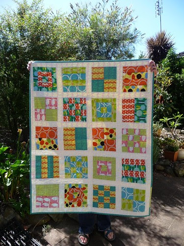 Red Letter Day Quilt - front