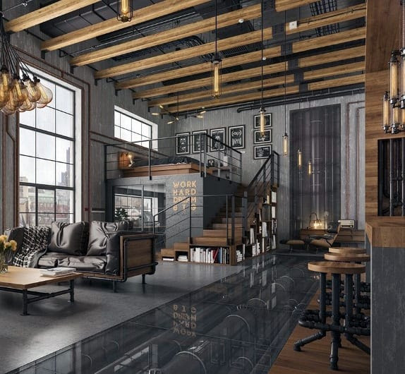 What's New for 2016: Vintage Industrial Home Decorating ...