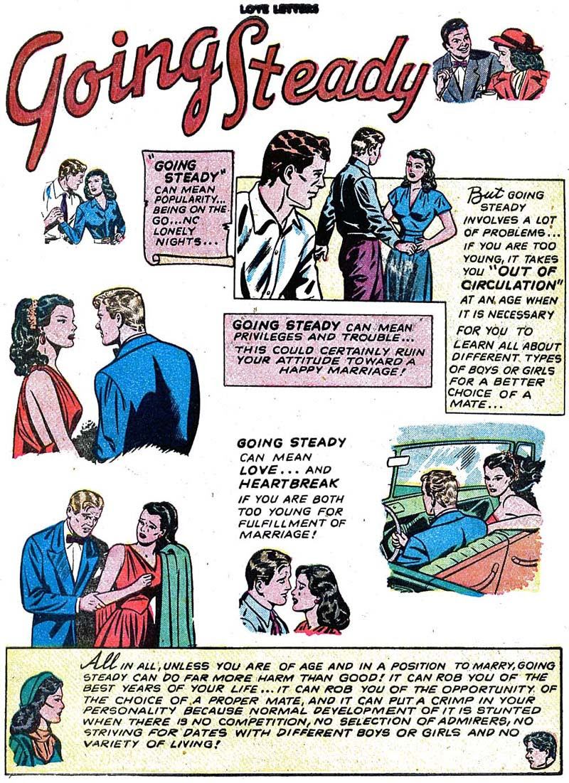 Love Letters #10 - Going Steady (1951)
