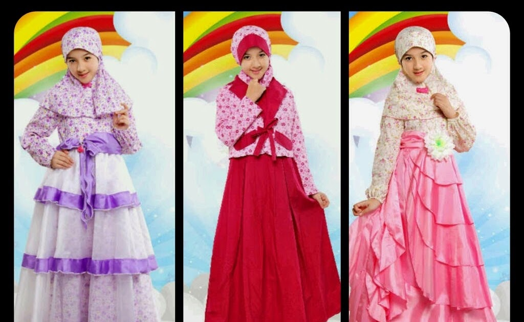 Baju Gamis Anak Bandung Hijab Nemo