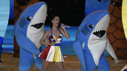 Left Shark was the real Super Bowl MVP