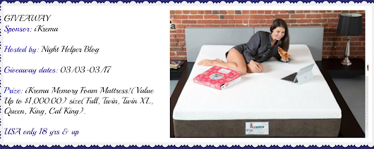 iKrema Memory Foam Mattress Giveaway! – Thoughts and Reviews