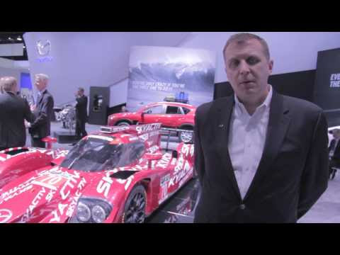 "Watch ""Mazda Diesel Prototype IMSA Race Car @ Detroit Auto Show NAIAS 2014"" on YouTube"