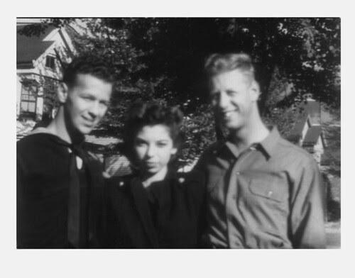 Ira, Vivian & Abner 1945