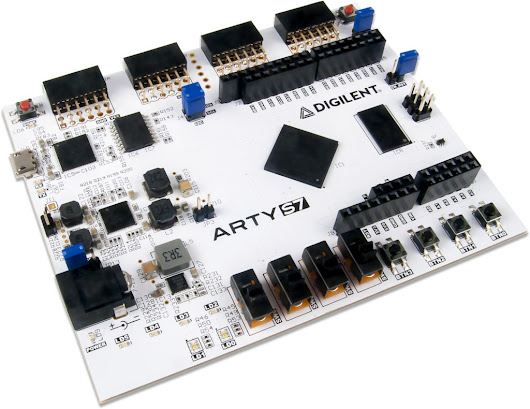 Arty S7: Spartan-7 FPGA for Makers and Hobbyists