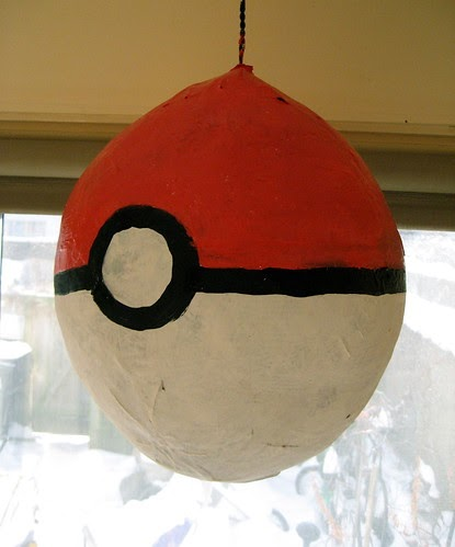 Everything Pokemon Homemade Pokemon Pokeball Pinata Photo
