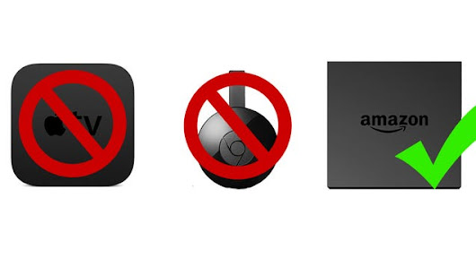 Amazon Just Banned the Sale of Google Chromecast and Apple TV