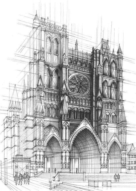 interior design  architecture  pencil drawings