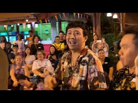 TRẤN THÀNH QUẨY BẤT CHẤP TẠI NIRAMIT SHOW - THAILAND