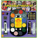 Professional Quality Halloween Costume Makeup Set
