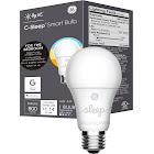 C by GE C-Sleep A19 Bluetooth Smart LED Light Bulb, Adjustable White