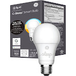 C by GE C-Sleep A19 Bluetooth Smart LED Light Bulb, Adjustable White