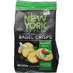New York Style Bagel Roasted Garlic Crisps 0.53 Pound