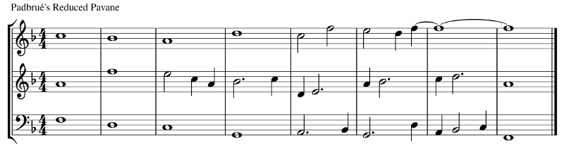 A Padbrué Reduction