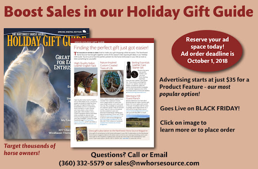 Annual Holiday Gift Guide Advertising Special - NW Horse Source