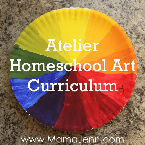 Atelier Online Homeschool Art Curriculum