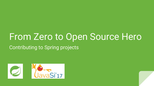 From Zero to Open Source Hero: Contributing to Spring projects