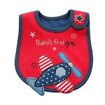 Baby Waterproof Bibs w Holiday Designs, 4th, Christmas, Valentine, Red/White/Blue-Boy-4th from Gifts Are Blue