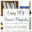 Easy DIY Decor Projects You Can Make This Weekend - two purple couches