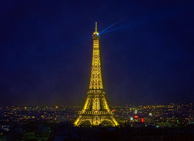 Paris' Shining Beacon