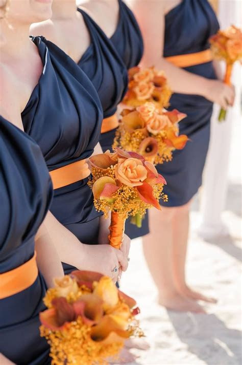 Best 25  Burnt orange bridesmaid dresses ideas on