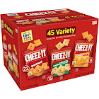 Cheez It Baked Snack Crackers, Variety Pack - 45 pack, 1.5 oz pouches