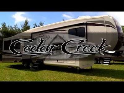 RV videos: Forest River Cedar Creek, Marathon Coach, Newmar Essex & Grand Design Momentum