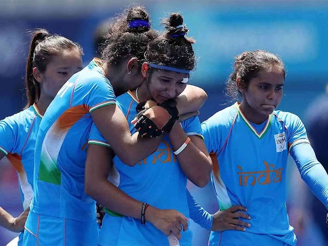 Women's hockey: India's defeat in the 'Bronze' match against Great Britain