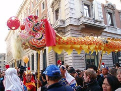 Chinese Dragon in Rome, Italy