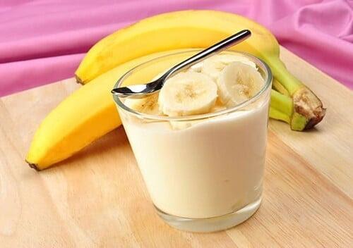 receita de mousse de banana