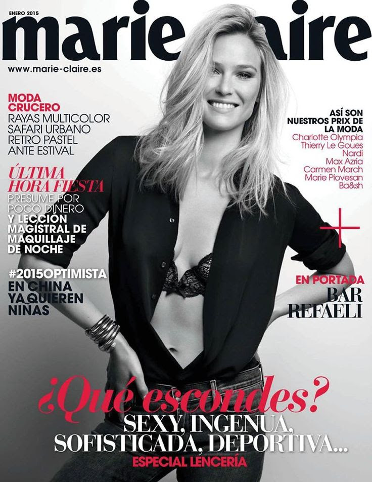 Bar Refaeli for Marie Claire Spain January 2015