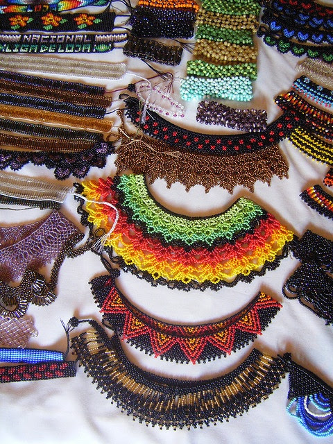 DSCF0089 by Kristin and Kelly, via Flickr. Saraguro beadwork