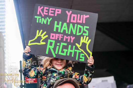 Womens March NYC: 40+ Unyielding Original Images From The Inspiring Day - Brooklyn Active Mama