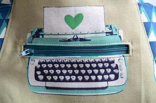 Typewriter 241 Bag by Poppyprint