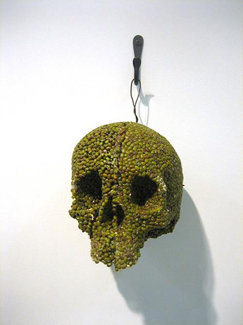artist helen altman spice skulls sculptures