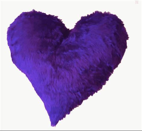 Heart fluffy cushion   Conscious Crafties