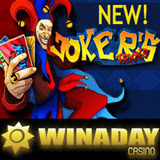 New Jokers Tricks Slot Game at WinADay Casino has Free Spins Slots Tournament Continues