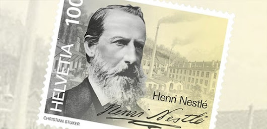 Stamp of approval: Swiss Post honours Henri Nestlé